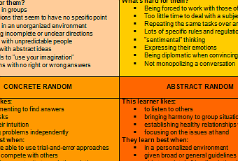 Honey and Mumford's Learning Styles Questionnaire