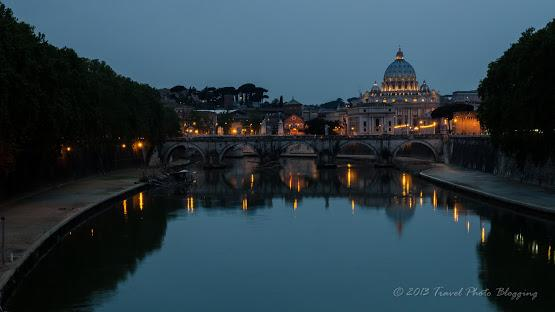 Picture-postcard views of Castel Sant'Angelo