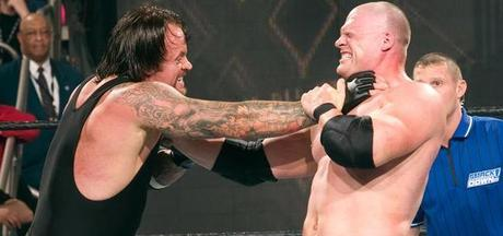 The Undertaker choke
