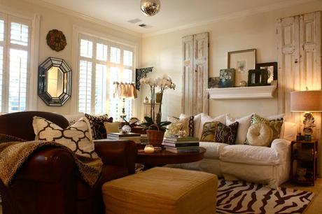 A Charmingly Crowded Home