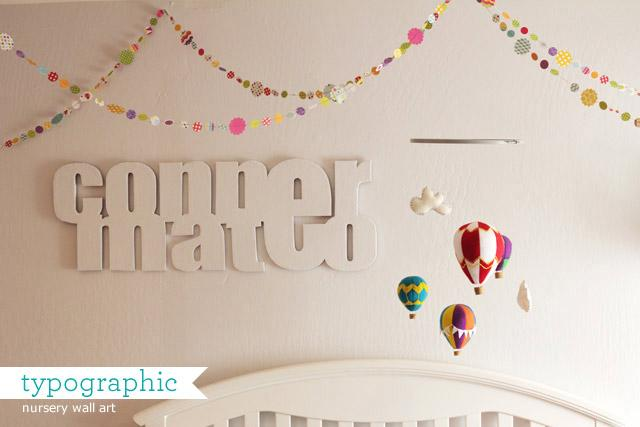 Diy Wall Art Name : Diy block letter wall art paper