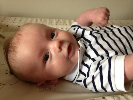 Ethan: 2 Month Old Baby Update