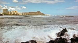 Waikiki from Ala Moana, Honolulu