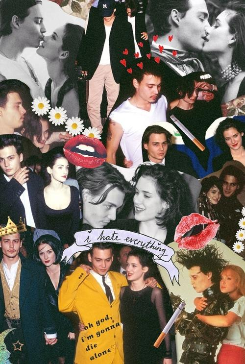 A History of Johnny Depps Famous Exes Winona Ryder Kate