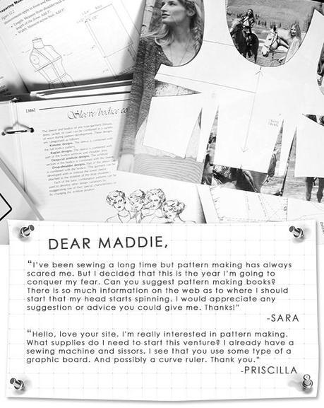 Dear Maddie: Pattern Making Books + Tools - Paperblog
