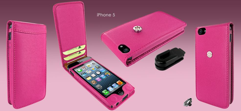 new concept 319fa e5480 Ladies Only: Pink Piel Frama Flip Case For iPhone 5 - Paperblog