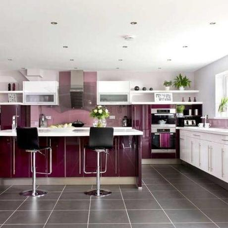 7 Kitchen Color Guest Blogger: Adding Color To Your Kitchen HomeSpirations