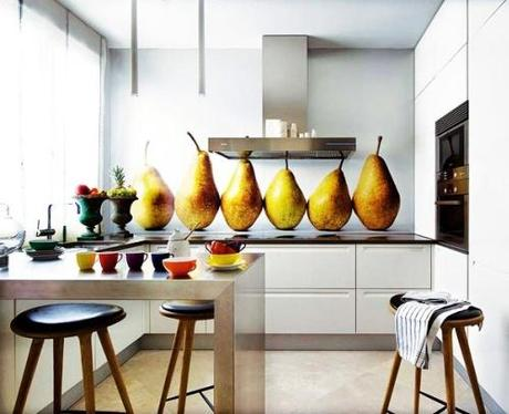 3 Kitchen Color Guest Blogger: Adding Color To Your Kitchen HomeSpirations