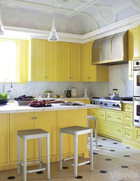 2 Kitchen Color Guest Blogger: Adding Color To Your Kitchen HomeSpirations