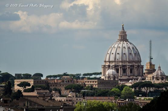 Vatican in the distance