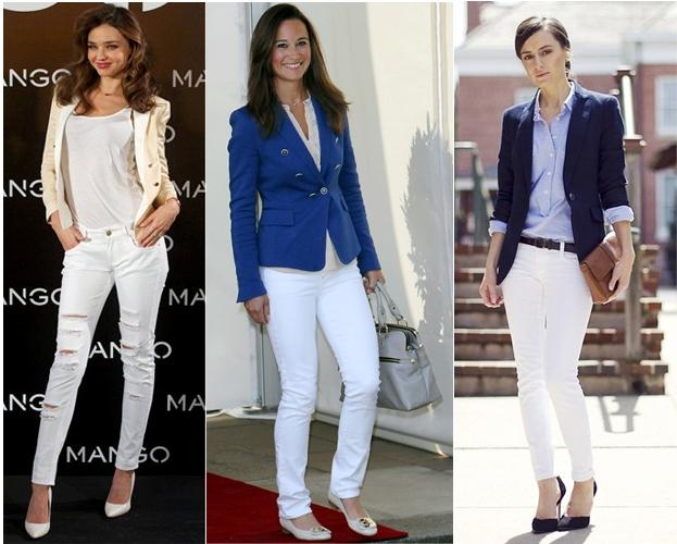 Trending White Jeans: The Rock Chic with Clean Soul - Paperblog