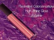 Maybelline Color Sensational High Shine Gloss: Glisten Pink Review