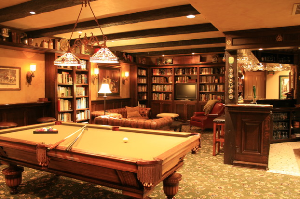 English Style Pub Basement
