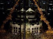 Hundreds Thousands Demonstrating Streets Brazil
