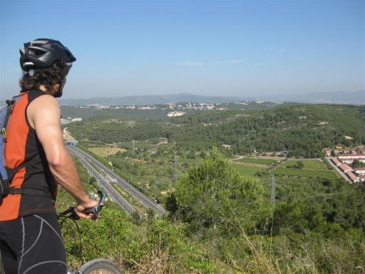 We crossed over the highway and the busyness of Segur seemed miles away (at this stage we had only pedaled around 6km or so).