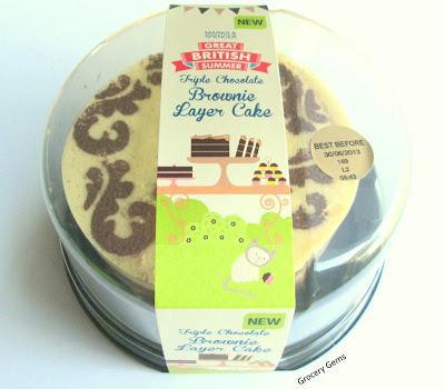 Marks Spencer Triple Chocolate Brownie Cake Paperblog