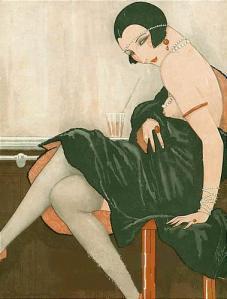 French B-Girl, 1925