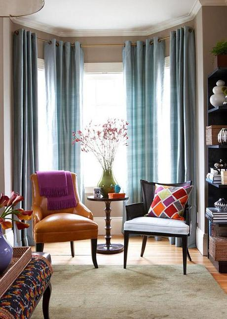 fabrics in home decor Make A Decorating Statement With Fabric HomeSpirations