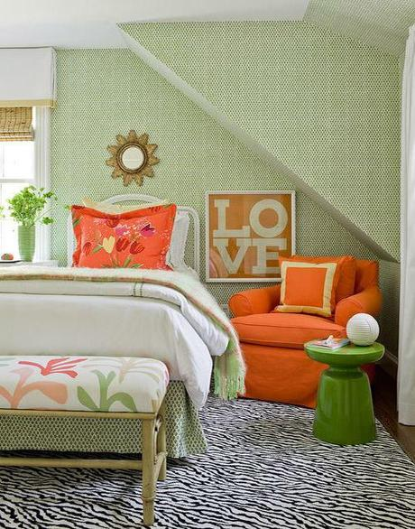decor summer fabric design5 Make A Decorating Statement With Fabric HomeSpirations