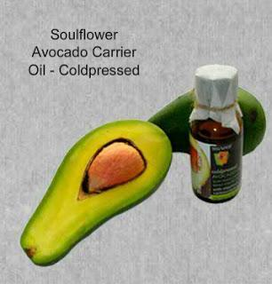 Soulflower Avocado Carrier Oil- Coldpressed