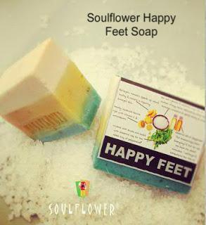 Soulflower Happy Feet Soap