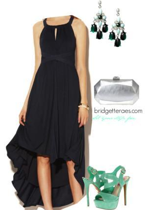 High Low Dress Look 1