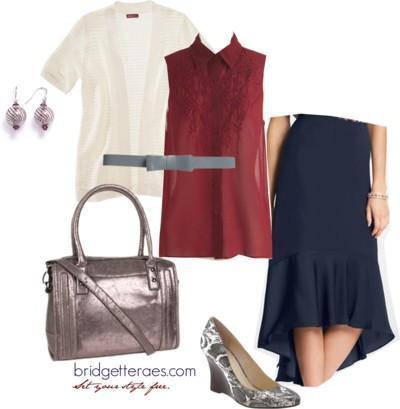 High Low Skirt - Look 4