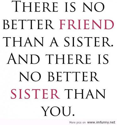 What does your sister mean to you?
