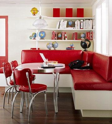 Red Kitchen Chairs - Paperblog