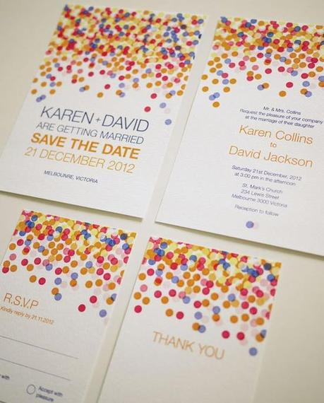 Anniversary Party ~ Inspirations for invitations