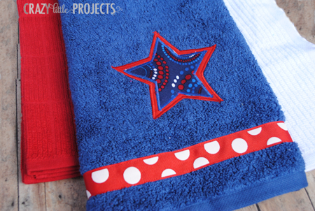 DIY: Decorate your Bathroom for Fourth-of-July
