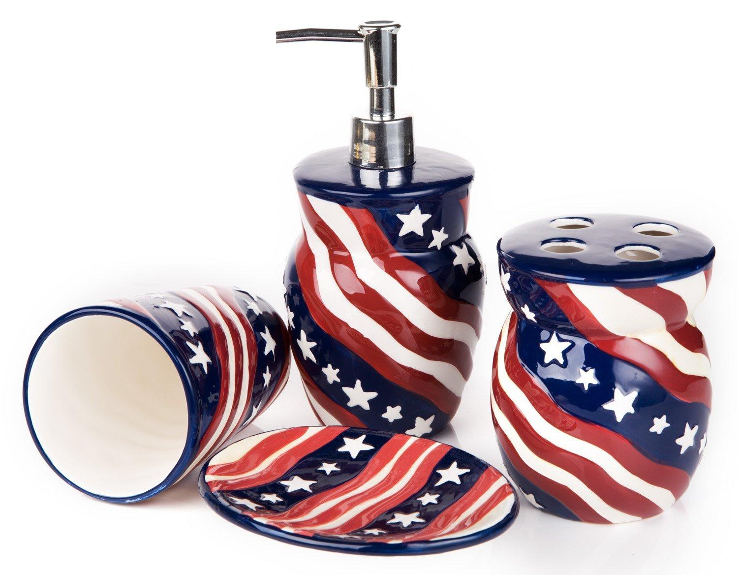 Diy Decorate Your Bathroom For Fourth Of July Paperblog