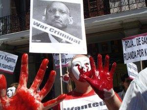 This is an illustration of Paul Kagame's criminal hands that Howard Buffet and Tony Blair are avoiding to consider in their advocacy for the dictator so their business interests continue to flourish in the region, at the expense of millions of Congolese, hundreds of thousands of raped women, Rwandans, and others, for almost 20 years now.