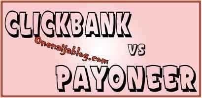Clickbank and payoneer mastercard