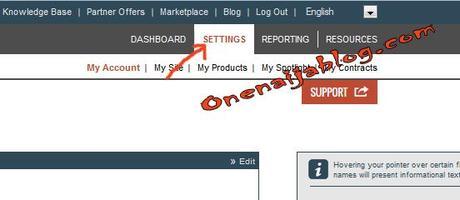 clickbank settings