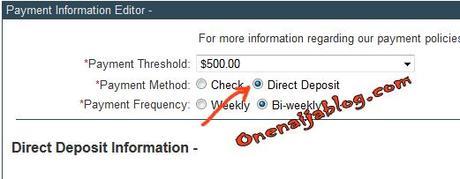 clickbank direct deposit