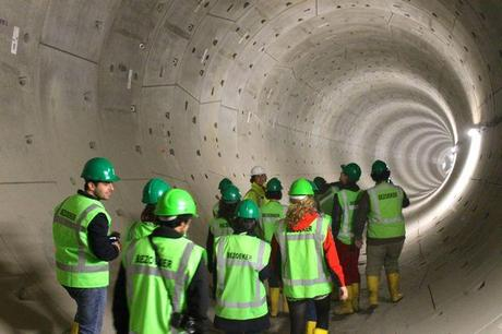do a tour of the Noord Zudlijn tunnel in Amsterdam