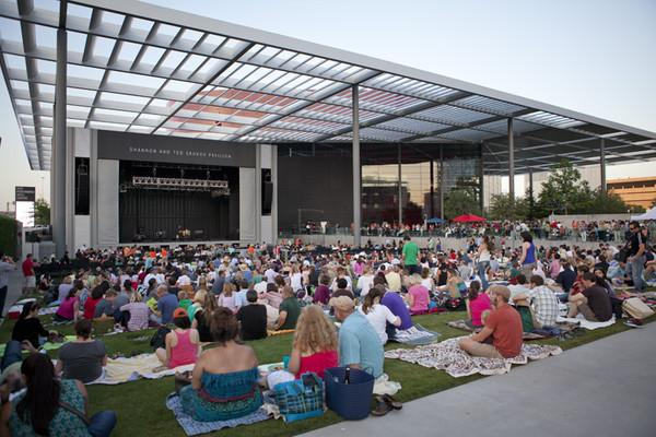 Best Live Music Venue in Dallas? Annette Strauss Square