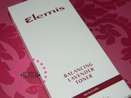 Review   Elemis Balancing Lavender Toner