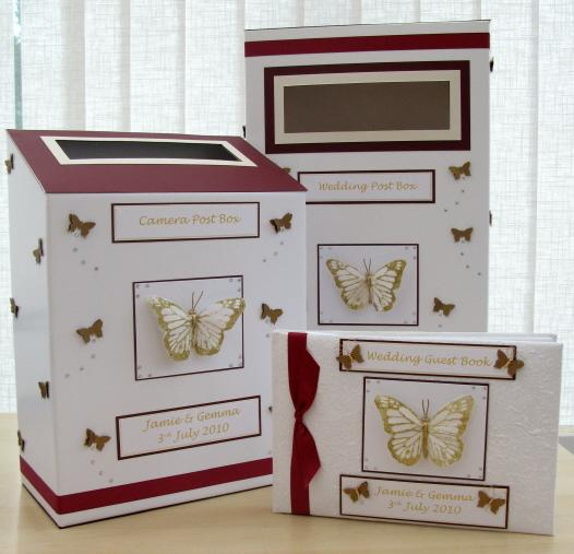 burgundy ivory gold butterfly post camera guest1