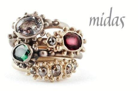 Ruth Tomlinson jewelry, midas jewelry, funky gold jewelry, vintage jewelry boca