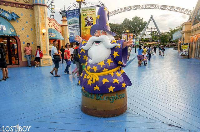 Revisiting Enchanted Kingdom with Globe Rewards