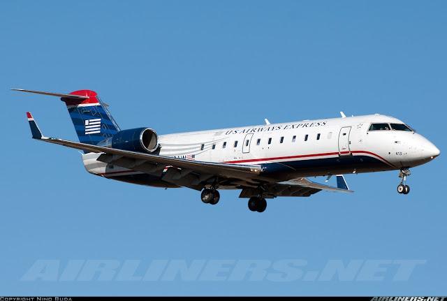 Canadair Cl 600 2b19 Regional Jet Crj 200lr Us Airways