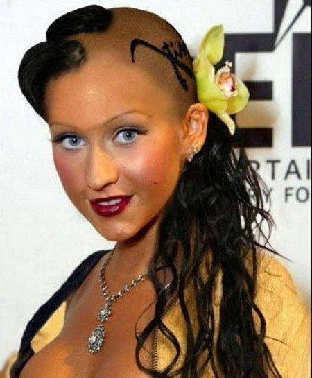 20 Weird and Funny Celebrity Hairstyles - Pouted Online