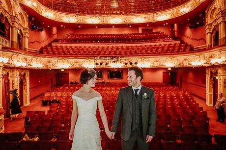 Tierney Photography theater wedding blog