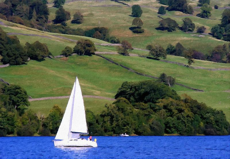 Sailing In The Lake District In Summer by Trevor Harvey 60 Votes