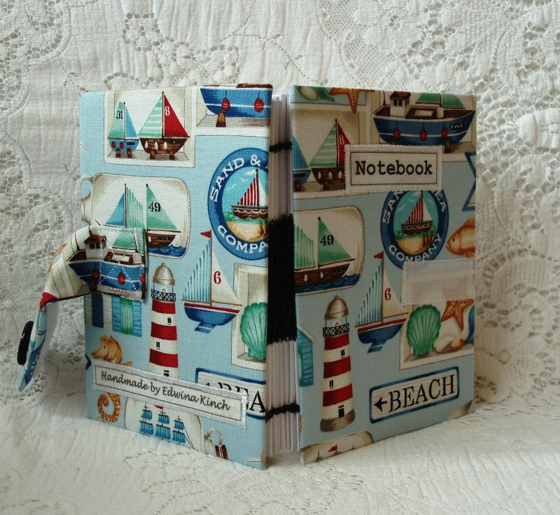 Summer at the Seaside with my Handmade Notebook to Hand! by Edwina Kinch 34 votes