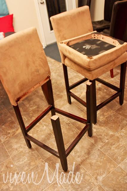 Reupholstered Bar Stools - Reupholstered Bar Stools - Paperblog
