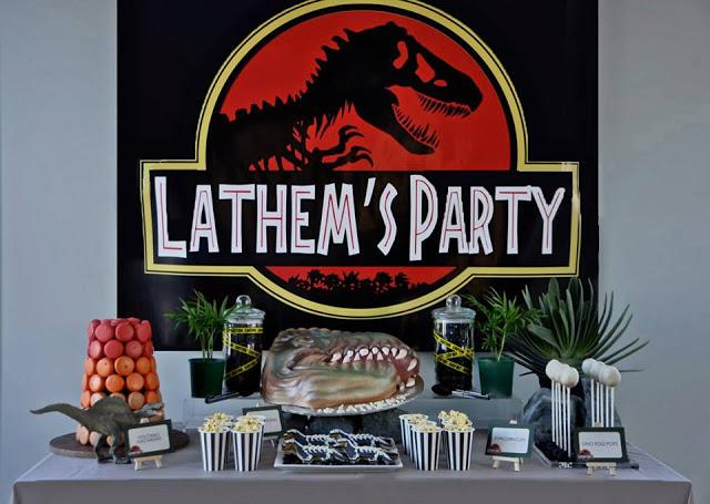 A Jurassic Park Themed Birthday Party by Centre of Attention ...