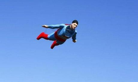 superman--RCplane